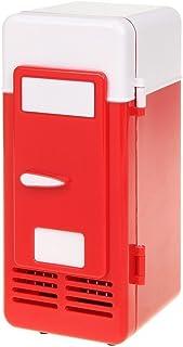 ThreeH Mini refrigerador del USB Refrigerador Bebidas Latas