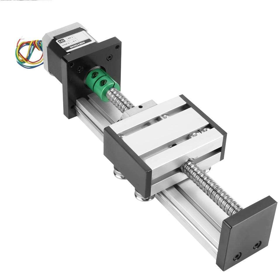 Luckya 1204 0.47inch Ball Screw Actuator Linear sold out 100mm Slide Max 66% OFF Eff
