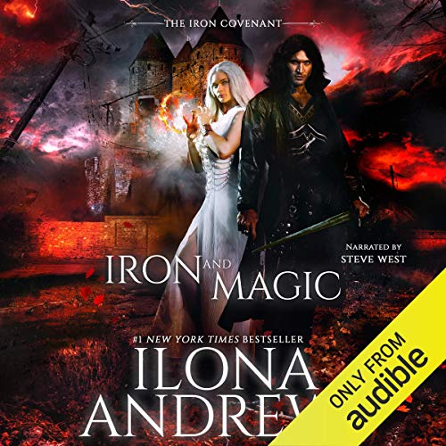 Iron and Magic Audiobook By Ilona Andrews cover art