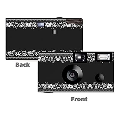 5 Vintage Frame Disposable Cameras, Anniversary, Single use, Flash WM-50426-C from CustomCameraCollection