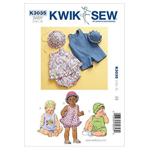 Kwik Sew K3035 Sundress Sewing Pattern, Bloomers