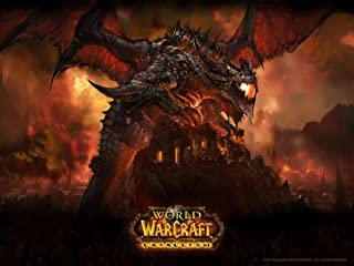 SteelSeries QcK World of Warcraft Cataclysm Gaming Mouse Pad-Deathwing Edition