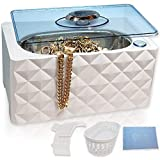 Best Jewelry Cleaners - Deluxe Ultrasonic Cleaner | Jewelry Dentures Retainers Eyeglass Review