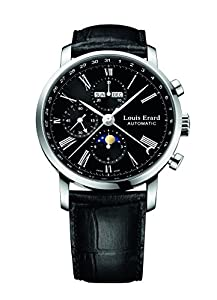 Louis Erard Excellence Collection Swiss Automatic Black Dial Men's Watch 80231AA02.BDC51 image