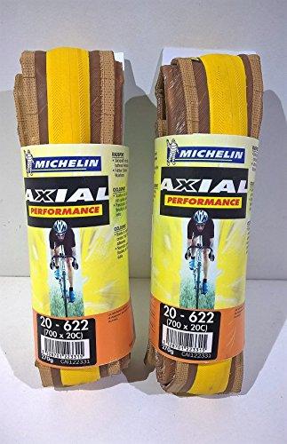 Michelin - Par de neumáticos Axial Performance amarillo 700