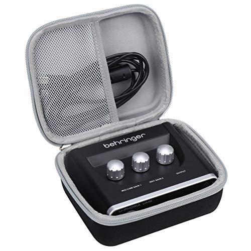Aproca Hart Schutz Hülle Reise Tragen Etui Tasche für Behringer UM2 U-Phoria 2x2 USB 2.0 Audio Interface