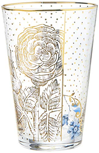 Pip Studio 51131014 Golden Dots Royal - Vaso para agua (transparente)