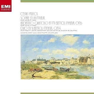 FRANCK: VIOLIN SONATA/ANDANTINO QUIETOSO(24bit) by AUGUSTIN DUMAY/JEAN-PHILIPPE COLLARD (2006-12-20)