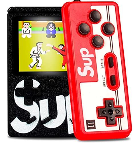 Mini Game Vídeo Game Portátil 400 Jogos Antigos + Controle