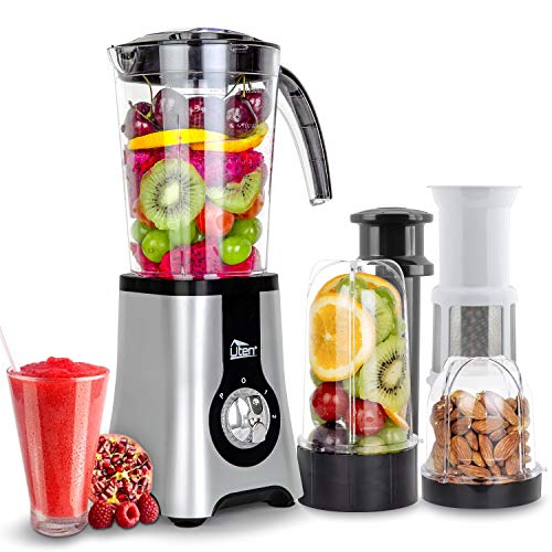 Uten Standmixer Mixer Smoothie Maker Multifunktion...