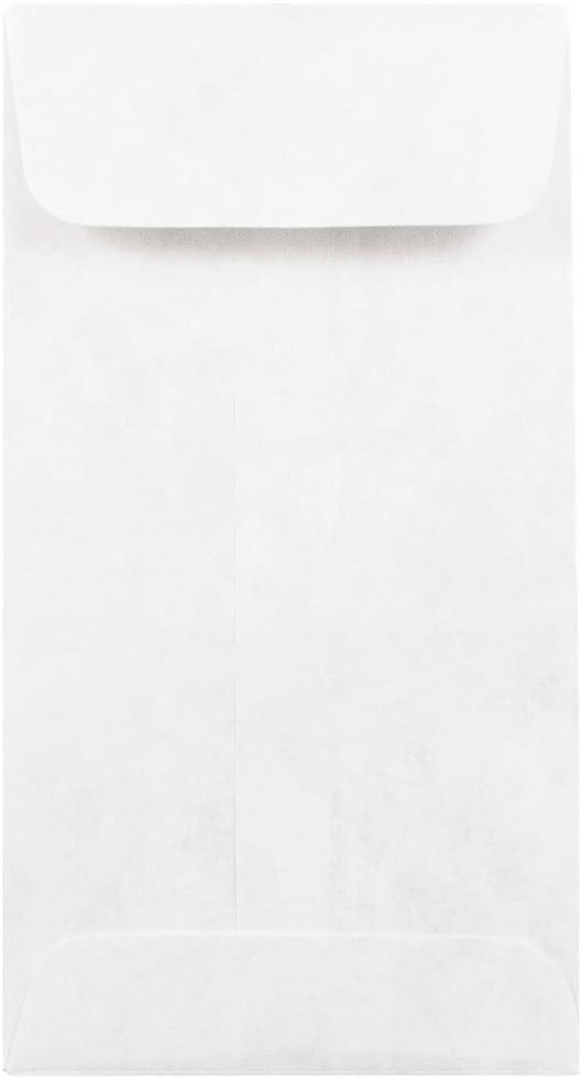 JAM PAPER gift #7 Coin Tyvek Tear-Proof Open x Envelopes - End 1 Dedication 3 2