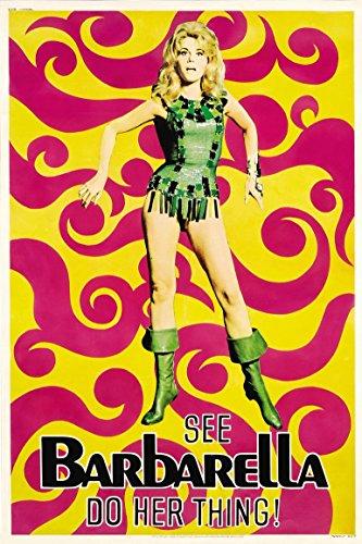 Poster Barbarella Movie 70 X 45 cm