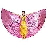 ZZM Bauchtanz Wings Festival Kostüm ägyptische Engelsflügel Karneval Performance Bekleidung Damen...