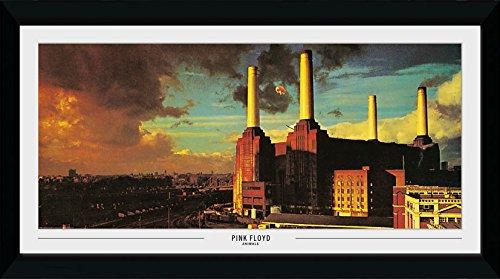 GB Eye Ltd Pink Floyd, Animals Kunstdruck, gerahmt, 50x 100cm, Holz, verschiedene, 55x 105x 1,8cm