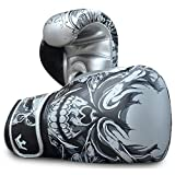Guantes de Boxeo Muay Thai Kick Boxing Buddha Fantasy Skull