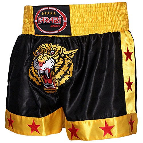 Farabi Muay Thai Short Kickboxing MMA Mix Martial Arts Training Short Boxing Trunk