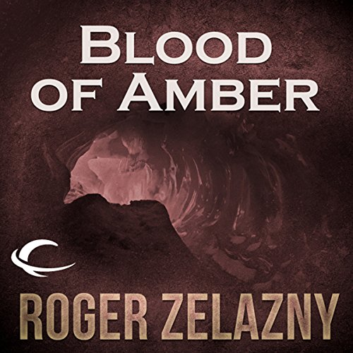 Blood of Amber audiobook cover art