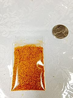 2.3 Grams Yellow Ghost pepper Bhut Jolokia Powder sample chile hot spice Very Rare