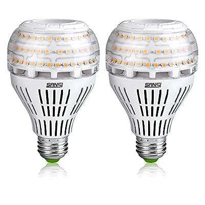 Sansi 22W (200-250 Watt Equivalent) A21 3000lm LED Light Bulbs