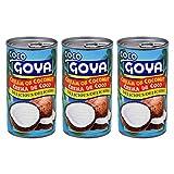 Goya Crema de Coco - Crema de Coco (3 Pack, Total de 40 onzas)