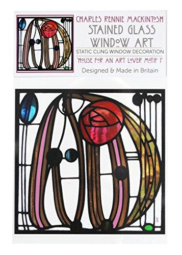 Statische Fensterfolie im Haus für Kunstliebhaber