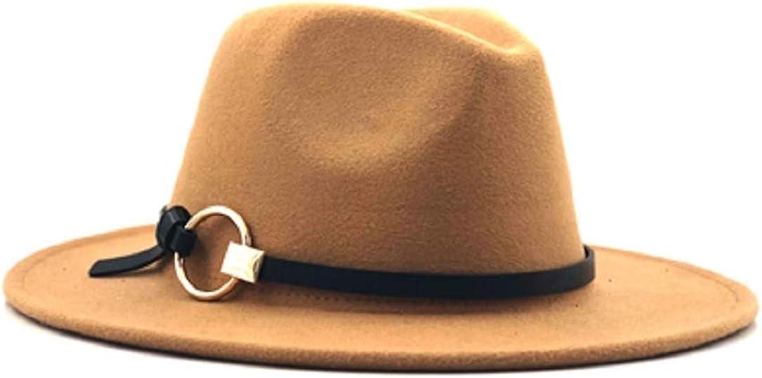 YABINA ACCESSORY Women Belt Buckle Fedora Hat