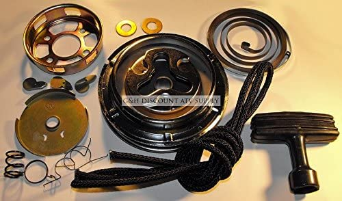 Engine Recoil Pull Pulley Starter Rebuild Kit for the 1984 1986 Honda ATC 200S product image