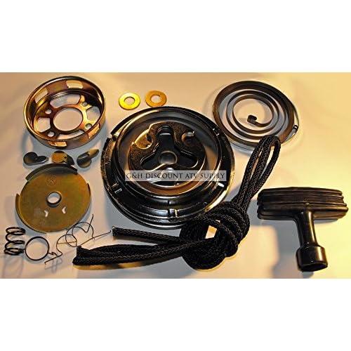 Rope Handle /& Pull Start Rebuild Kit HONDA 84-86 ATC200S Recoil Starter Spring