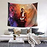 NOT Kid Cudi Wall Tapestry for Home Decor Bedroom Living Room, 6051 Inches Tapestry