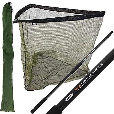 "42"" Carp Fishing Landing Net With 2m Handle + Stink Bag"