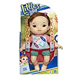 BABY ALIVE Littles, Littles Squad, Little Maya, Brown Hair, 9-inch Take-Along Toddler Doll with Comb