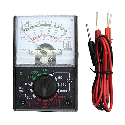 cuigu Mini multímetro digital analógica mf-110a AC/DC Voltímetro Amperímetro multímetro metro Multi probador
