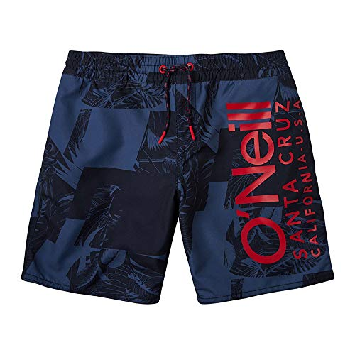 O'Neill Pb Cali Floral Shorts, Bañador para Niños, Multicolor (5950 Blue AOP W/ Blue),...