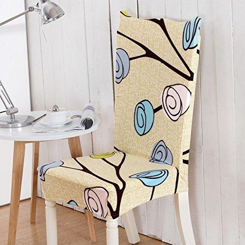 PPOOLLKKMM bloemenprint vlinder stoelhoes Home eetkamer stoelhoezen multifunctionele spandex elastische doek Universal Stretch universelle Größen Kleur 14