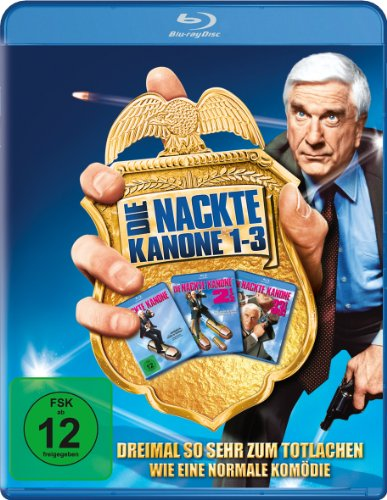 Die nackte Kanone -  Box-Set [Blu-ray]