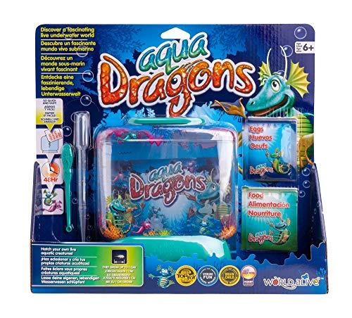 Aqua Dragons- Mundo Submarino Juguete Educativo, Multicolor (World Alive W4001)