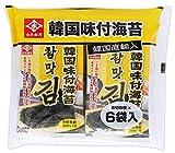 ナガイ 韓国味付海苔 6袋