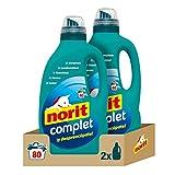 NORIT Complet - Detergente Líquido, Pack de 2 x 2000 Mililitros, 4000 Mililitros