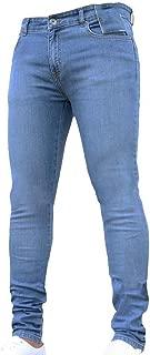 Mens Skinny Jeans Pant Casual Trousers Denim Stretch Pencil Pants Plus Size