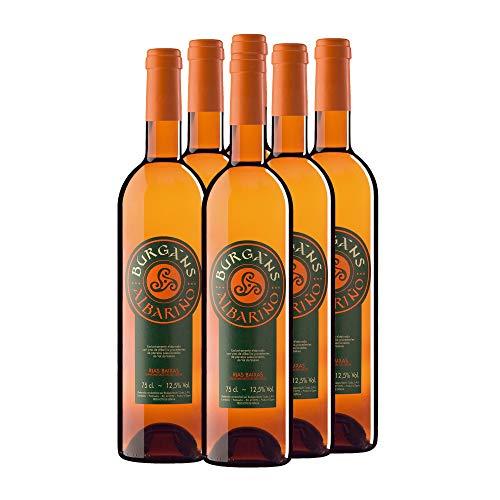 Burgáns Vino blanco albariño D.O. Rías Baixas - 6 x 750 ml