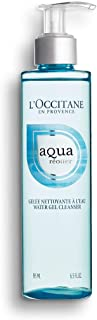 L'Occitane Gentle Aqua Reotier Water Gel Cleanser Enriched with Hyaluronic Acid to Remove Impurities or Makeup, 6.5 fl. oz.