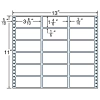 東洋印刷 タックフォームラベル 13インチ ×11インチ 18面付(1ケース500折) M13B
