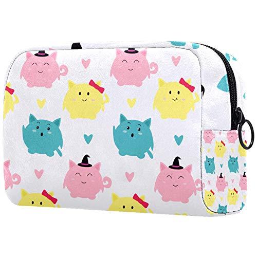 Bonita bolsa de cosméticos para mujer, adorable bolsa de...