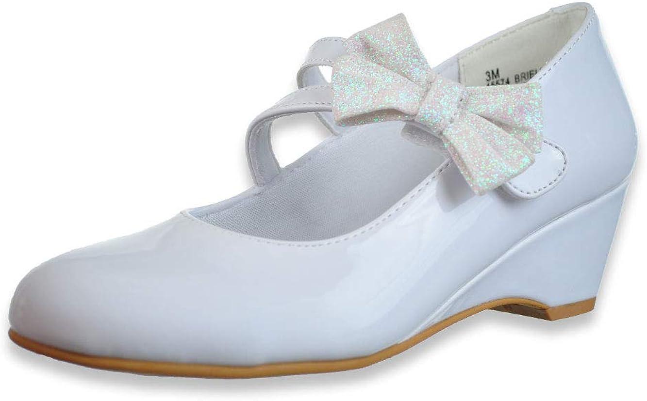 Rachel Girls' Briella Wedge Heel Shoes