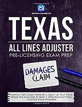 Texas All Lines Adjuster: Pre-Licensing Exam Prep