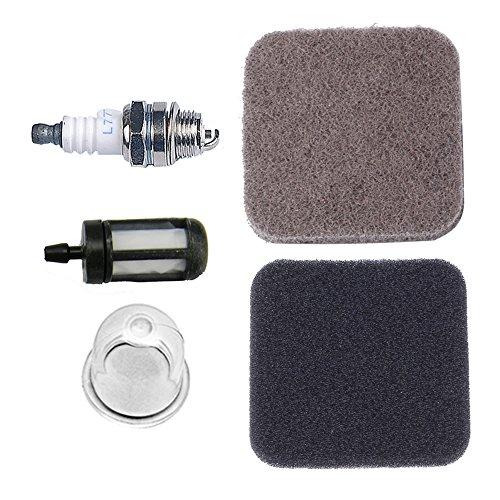 Hipa Pre Air Filter with Primer Bulb Fuel Filter Spark Plug for STIHL FS75 FS80 FS85 String Trimmer Brushcutter