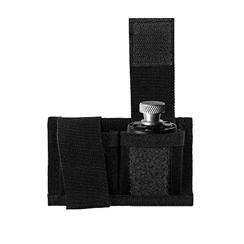 GVN Off-Duty Concealed Double Speedloader Belt Pouch Case Universal Fits 22 Mag Thru 44 Mag Black