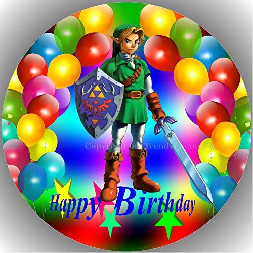 Premium Esspapier Tortenaufleger Party Geburtstag Die Legende von Zelda AMA 29