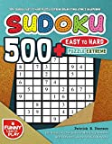 500+ Sudoku Easy to Hard Puzzle Extreme Brain Stimulating & Sharpening: 500 Sudoku Puzzles Book for Minimizing Dementia with Different Levels for Kids & Adults (Sudoku Puzzles Books Large Print)