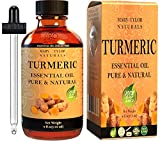 Turmeric Essential Oil (4 oz), Premium Therapeutic Grade, 100% Pure and Natural, Perfect for Aromatherapy, Sore Muscle Balm, Promote Good Liver Health and Much More by Mary Tylor Naturals